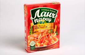 Упаковка из картона для продуктов