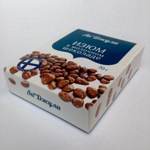 Упаковка для изюма в шоколаде