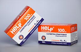 Упаковка из картона для таблеток